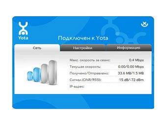 Yota access – удобное приложение, которое можно скачать бесплатно для win 7