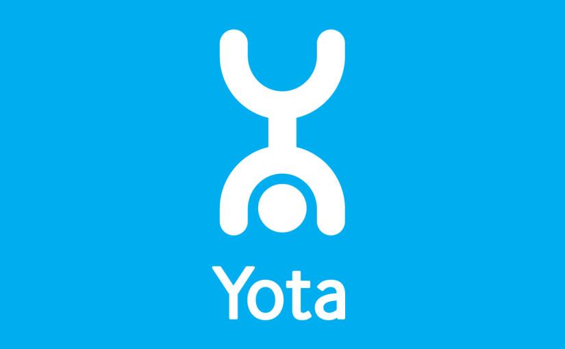 Логотип Yota